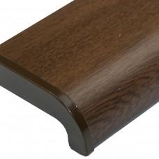 Подоконник ПВХ Sauberg цвет орех матовый - Фото 2
